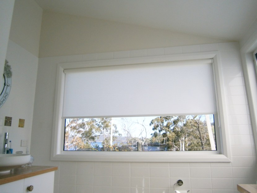 Roller Blind at window
