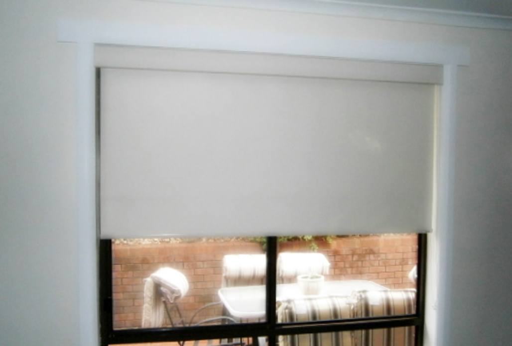 white Linea blind