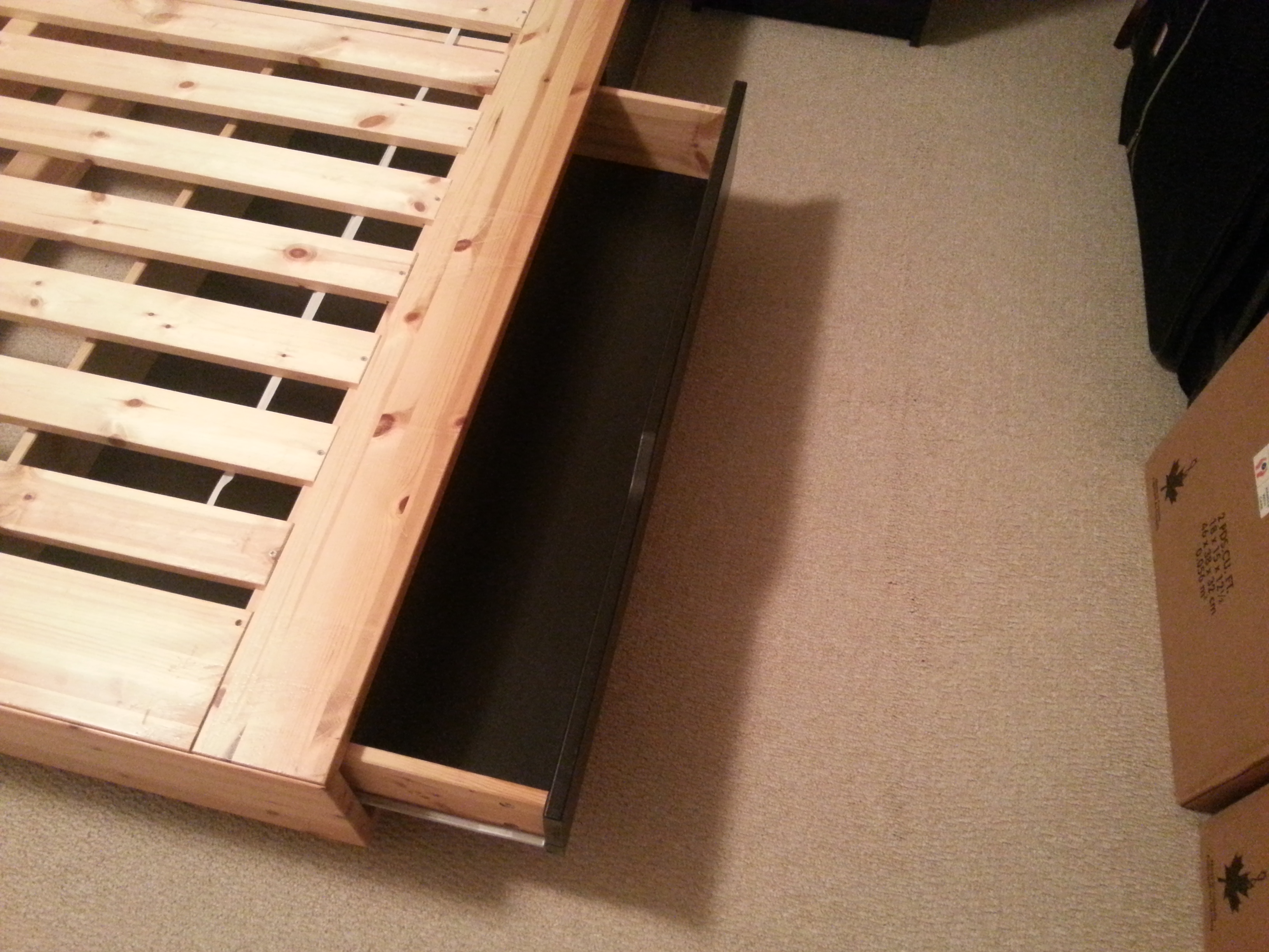 IKEA MANDAL Bed Frame Queen Size Kingston Great Sale