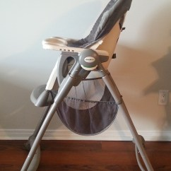High Chair Food Catcher Office Chairs White Eddie Bauer Deluxe Kingston Great Sale