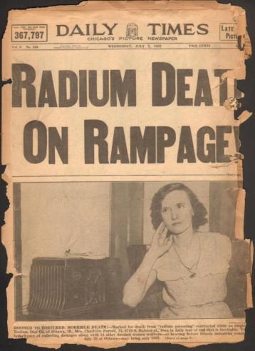 Museum of Heath - Blog - Newspaper title