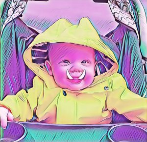 Freya the baby dire troll