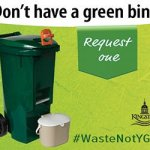 The City of Kingston Requires Green Bin for Food Waste