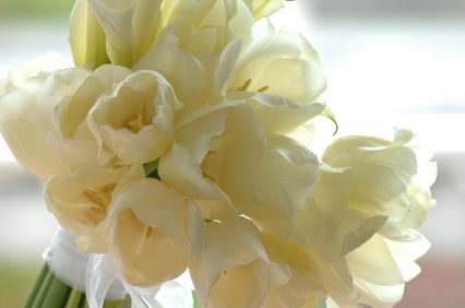White Bridal Arrangement
