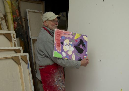 Abstract acrylic Graham Boyd