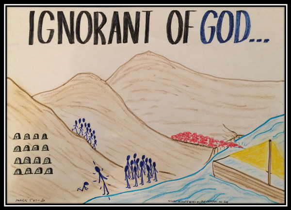 you must be born again; ignorant of God; cast out demons