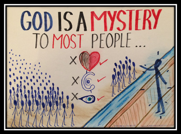 God is a mystery to most people; you must be born again; parable of the sower