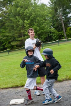 baseball clinic boys summer camp overnight sleepaway new england