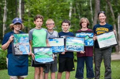 art painting boys summer camp creative options choices