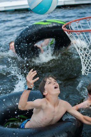 water basketball lake sports watersports camp kingswood overnight boys