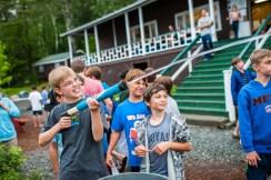 cabin carnival games boys fun sleepaway summer camp