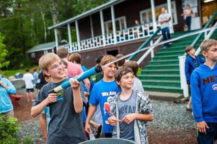cabin carnival games boys fun sleepaway summer camp