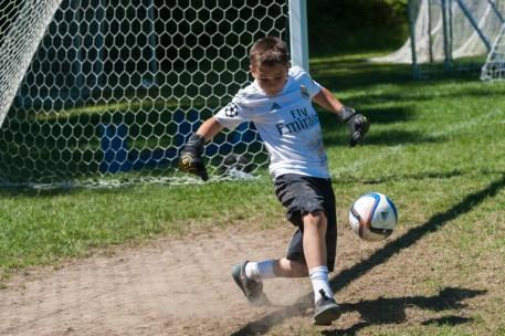 soccer clinic goal