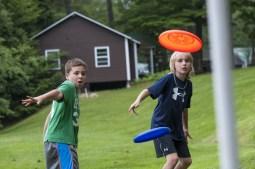 frisbee golf boys summer camp new hampshire overinight sleepaway