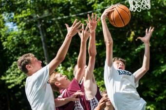 new england summer overnight summer camp basketball game