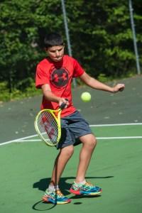 tennis sport games boys summer camp sleepaway new england