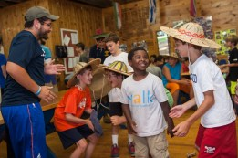 meals food camp laughter boys summer camp