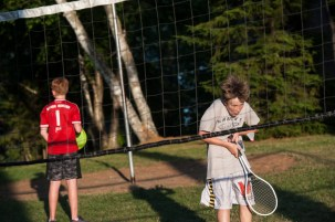 badminton net games