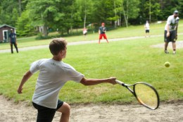 javelin ball afternoon activity