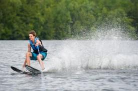 waterskiing clinic water lake new hampshire mountains new england sleepaway camp