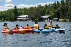Kayaking clinic