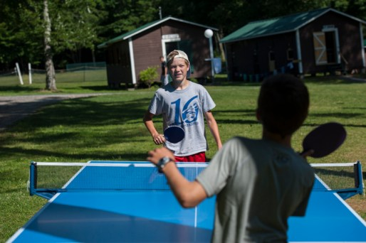 Outdoor pingpong tables