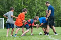 rugby clinic boy summer camp sports games new england overnight