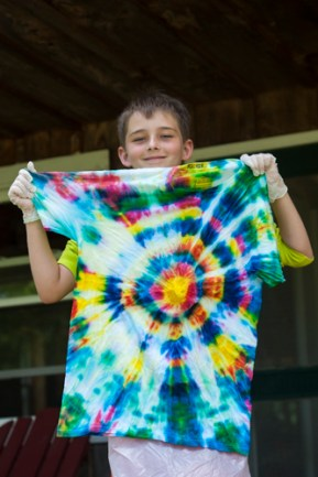 tie dye creative afternoon