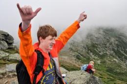nature hiking mount washington mountains new hampshire boys summer camp
