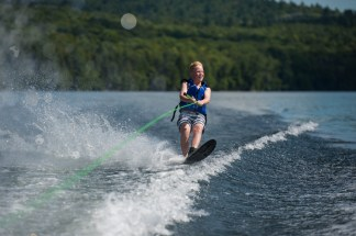 Waterskiing clinic