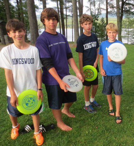 Oh, where would we be as a community without frisbees?