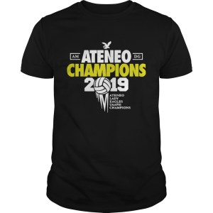 Ateneo Champions 2019 Ateneo Lady Eagles UAAP81 champions shirt