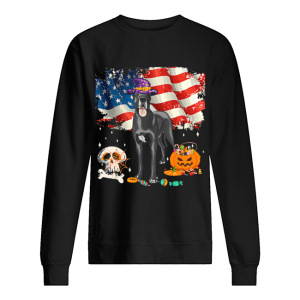 Great dane Dog Halloween Costume Gift Flag America T-Shirt Unisex Sweatshirt