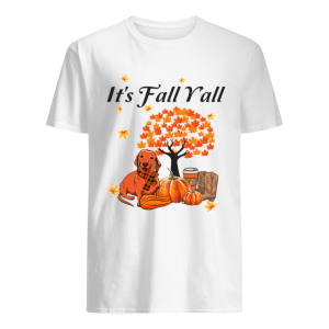 It's Fall Y'all Dachshund Halloween Funny Dog Lover T-Shirt Classic Men's T-shirt