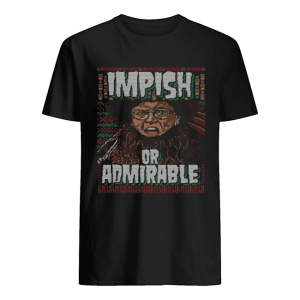 Belsnickel I Am Nigh Impish Or Admirable Cheer Christmas Ugly  Classic Men's T-shirt