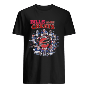 Bills all-time greats Buffalo Bills Players signature  Classic Men's T-shirt