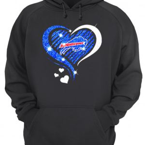 Buffalo Bills Diamond heart  Unisex Hoodie