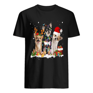 Cute Chihuahua Christmas  Classic Men's T-shirt