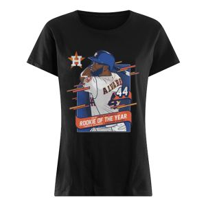 Houston Astros Yordan Alvarez 2019 AL Rookie of the Year  Classic Women's T-shirt
