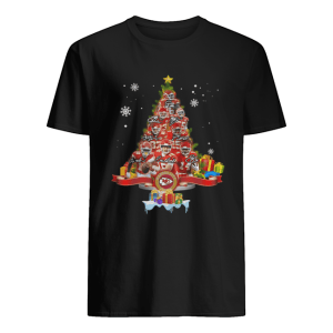 Kansas City Chiefs Players Signatures Christmas Tree  Classic Men's T-shirt