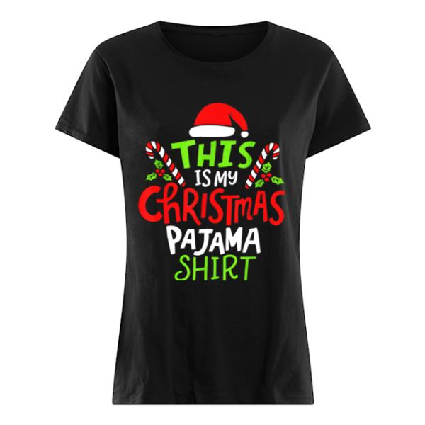 Premium This Is My Christmas Pajama  Classic Women's T-shirt