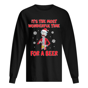 Rick Sanchez It's the most wonderful time for a beer  Long Sleeved T-shirt