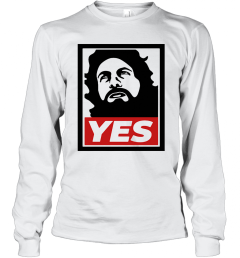 Daniel Bryan Yes Art T-Shirt Long Sleeved T-shirt