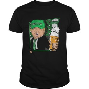 Donald trump make st pattys day great again beer  Unisex