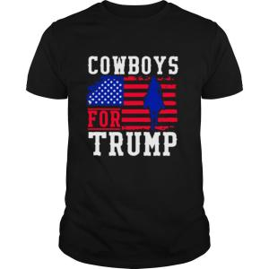 Cowboys For Trump 2020 shirt