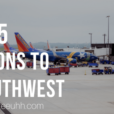 5 Reasons to Fly Southwest Airlines