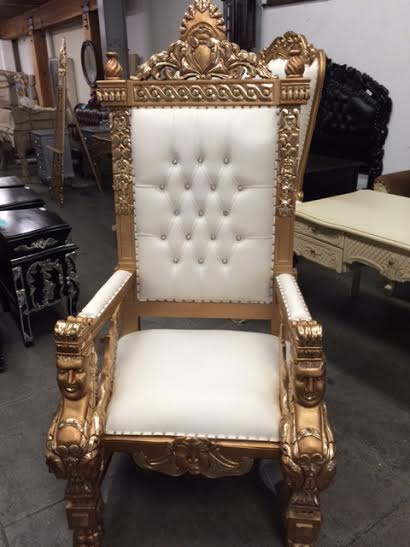 throne chairs for rent hanging chair indoor king and queen 818 636 4104