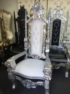 King Queen Throne Chairs 8186364104  King Thrones