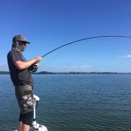Matt Moritz aiming for the horizon