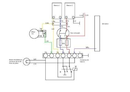 King Electrical Power Diagram 2006 F 500 Mirror Diagram